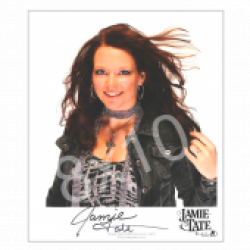 Jamie Tate - AUTOGRAPHED - 8x10- Close Up