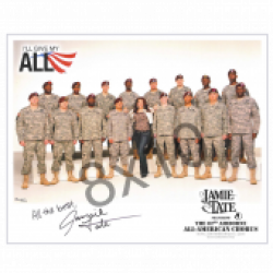 Jamie Tate - AUTOGRAPHED - 8x10- 82nd Airborne