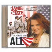 Jamie Tate CD- I'll Give My All