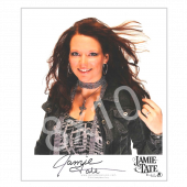 Jamie Tate - AUTOGRAPHED - 8x10- Close Up